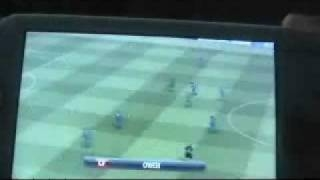 PSP Pro Evolution Soccer 2008 Game Footage 10mins long!!!! Pro 2008 �� psp