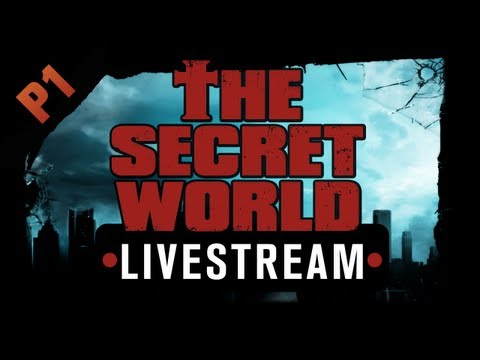 The Secret World Livestream - Part 1 - Faction intros, character creation, ponchos