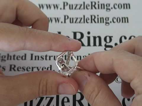 Puzzle Ring Solution for 4 Band Puzzle Rings 4ANS