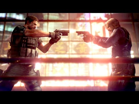 """RESIDENT EVIL 6 Trailer"" - New Release Date & RE 6 Gameplay Trailer! (Official 2012 HD) Resident Evil 7 Gameplay Trailer"