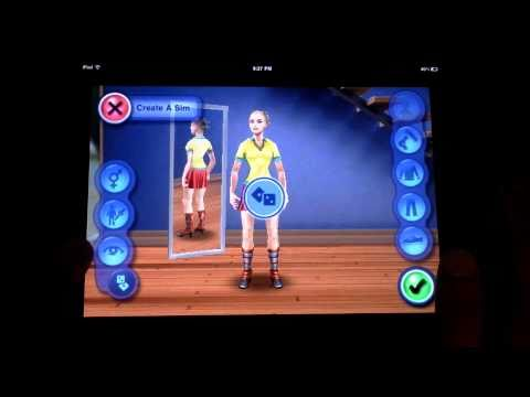 Sims 3 for iPad / iPad 2 / iPhone / iPod Touch HD sims 3 для ipod ipad the sims sims для ipad 2