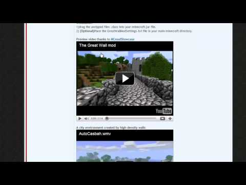 How to Install any Mod on Minecraft - Full Tutorial minecraft mod Alien Shooter