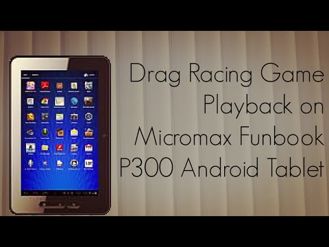 Drag Racing Game Playback Demo on Micromax Funbook P300 Android Tablet drag racing android прохождение