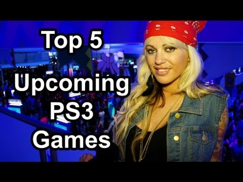 Top 5 - Hottest upcoming PS3 games