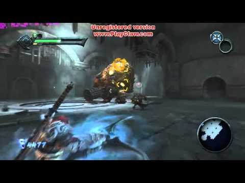 Darksiders-PC game play | бъём тюремщика.