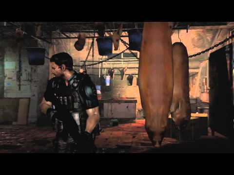 Resident Evil 6 — Геймплей Chris. Gamescom 2012 (HD) demonion
