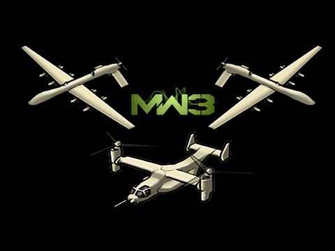 MW3: (34-1) Osprey Gunner   2 Reapers (Gameplay/Commentary)