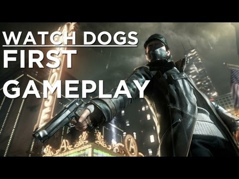 Watch Dogs Gameplay Demo - Ubisoft E3 2012 Press Conference ролик E3: Watch Dogs вотч догс прохождение Watch Dogs - E3 2012