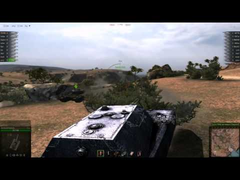 World of Tanks РОТА Т30 VS РОТА Т-54.avi world of tanks пт т30