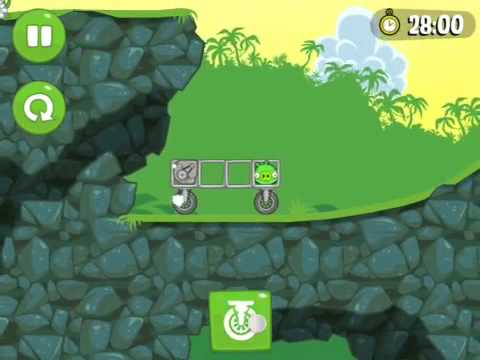 Прохождение bad piggies уровни(30-32)ground HOG Day Bad Piggies - Игровая часть 1 Ground